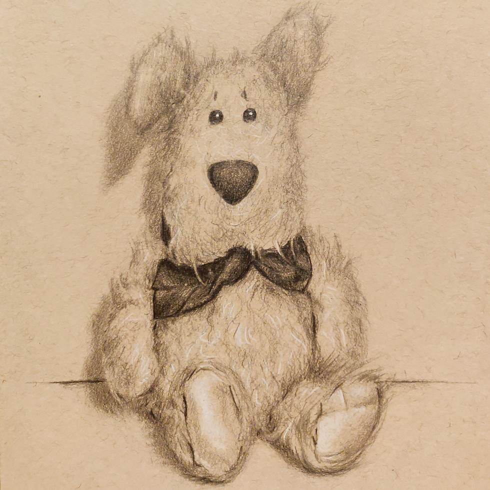 Pookie Doodle  By Chas Mason Pencil