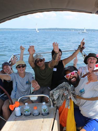 Sailing aboard Calidora