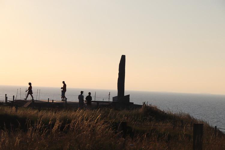 Pointe du Hoc rock