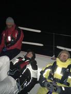 Sleepless night racing Block Island