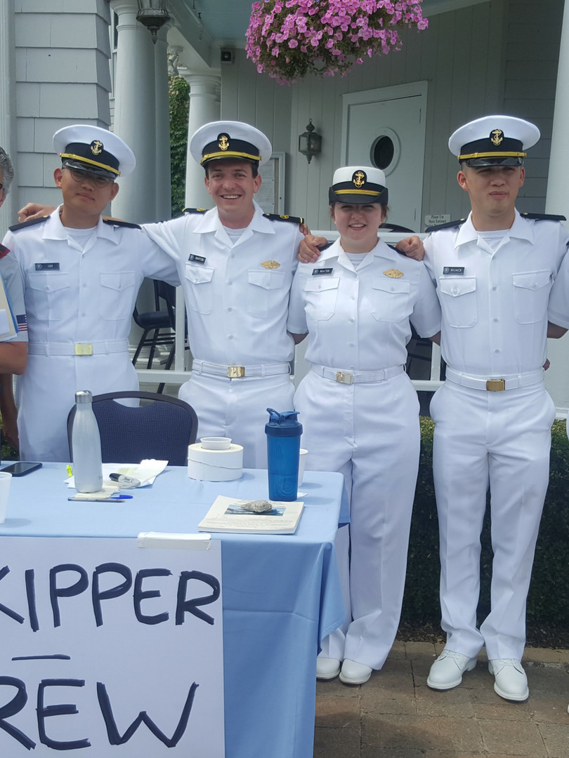 USMMA Crew at Centerport Yacht Club