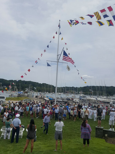 Gathering at Centerport Yacht Club