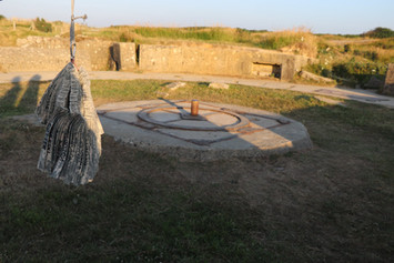 Pointe du Hoc gun postition