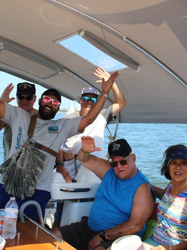Sailing with Veterans