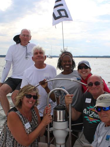 Sailing aboard Bon Coeurs
