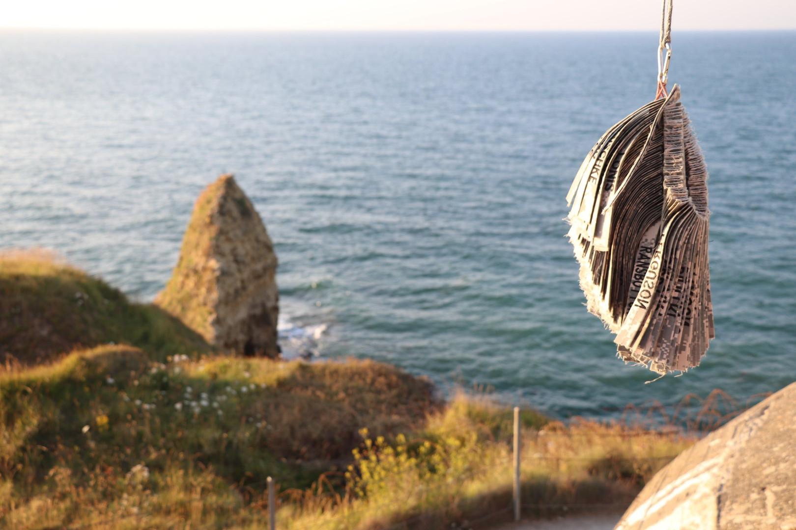 Pointe du Hoc sea