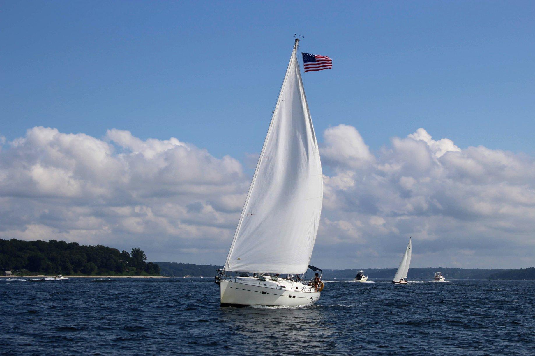 Sailing LI Sound
