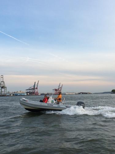 Safety RIB in NY Harbor