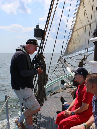 Sailing the Priscilla