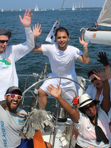 Sailing the LI Sound with Our Mates