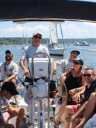 Day Family aboard SailAhead's Stargazer