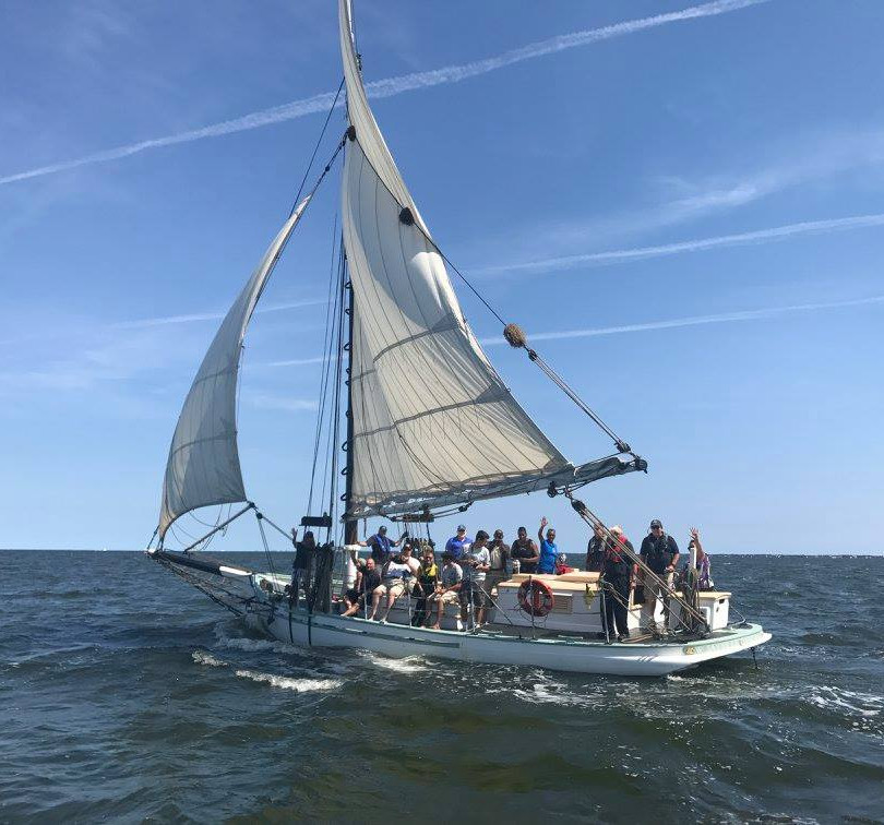 Sailing the historic Oyster Sloop, Priscilla