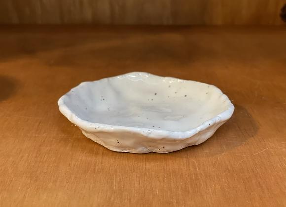 Small White Jewelry Dish