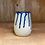 Thumbnail: Sapphire Blue Drips Stemless Wine Glasses