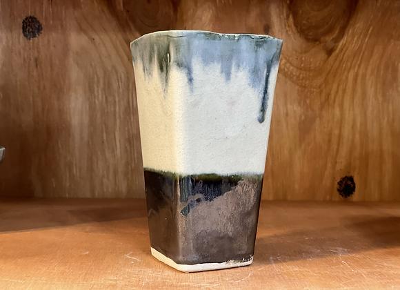 Simplistic Colors Square Vase