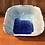 Thumbnail: Shades of Blue Square Bowl w/ a Twist