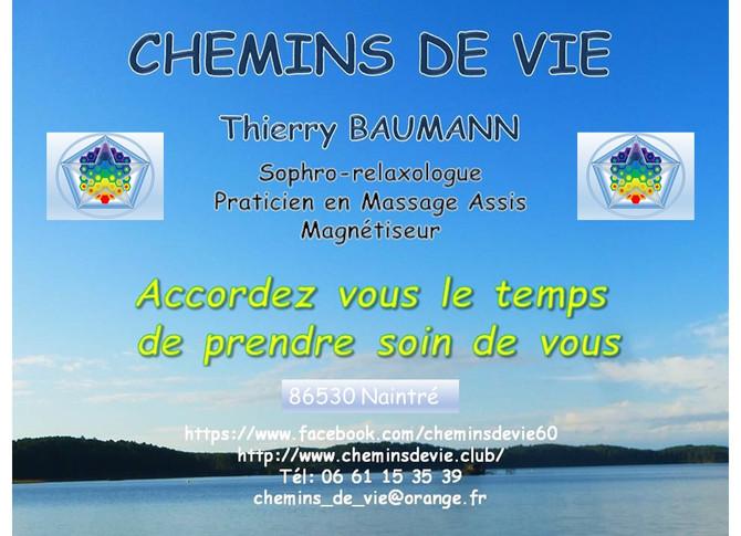 Vous résidez dans la région de Chatellerault ....
