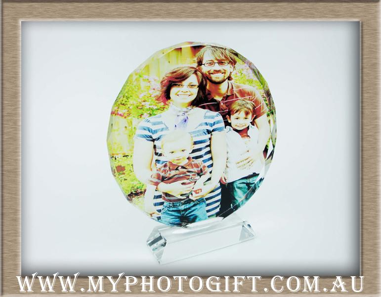 crystal printing family photot