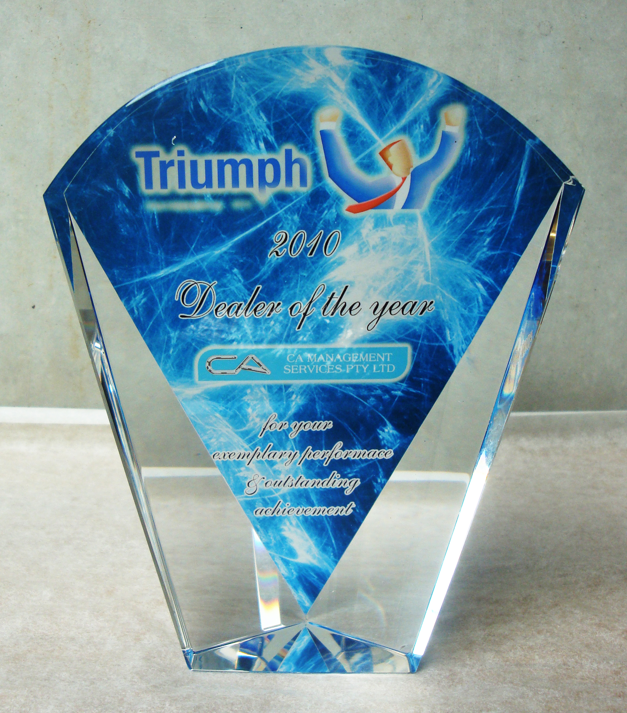 trophy printing award