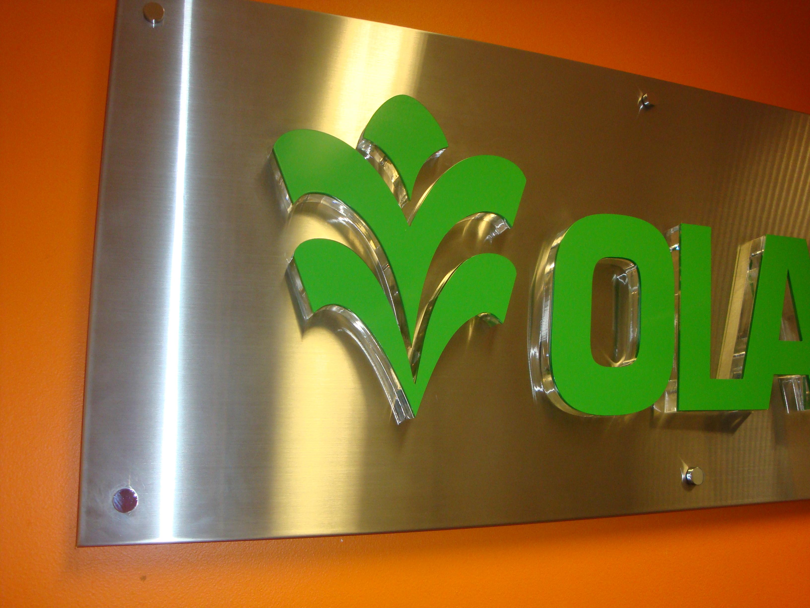 acrylic vinyl 3d letters