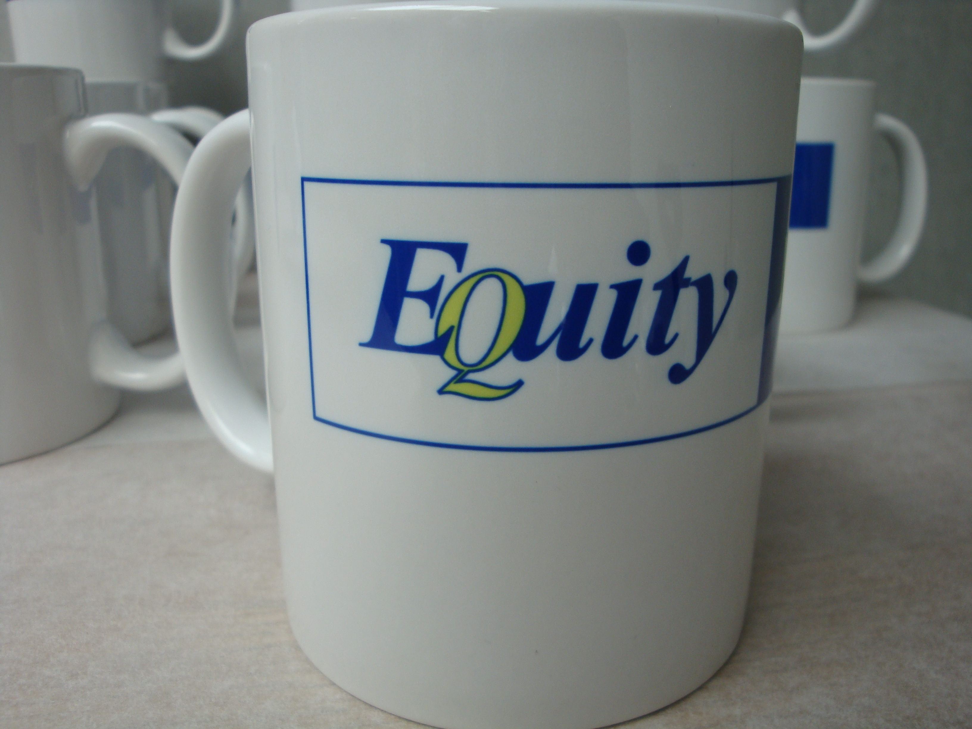 corporate mug gift logo