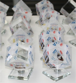 60 cube swirling promotional gift