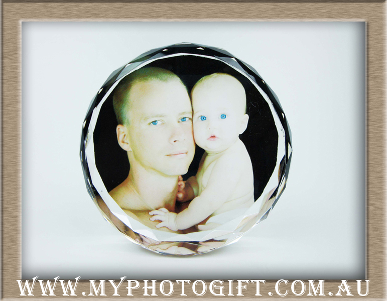 baby father crystal gift