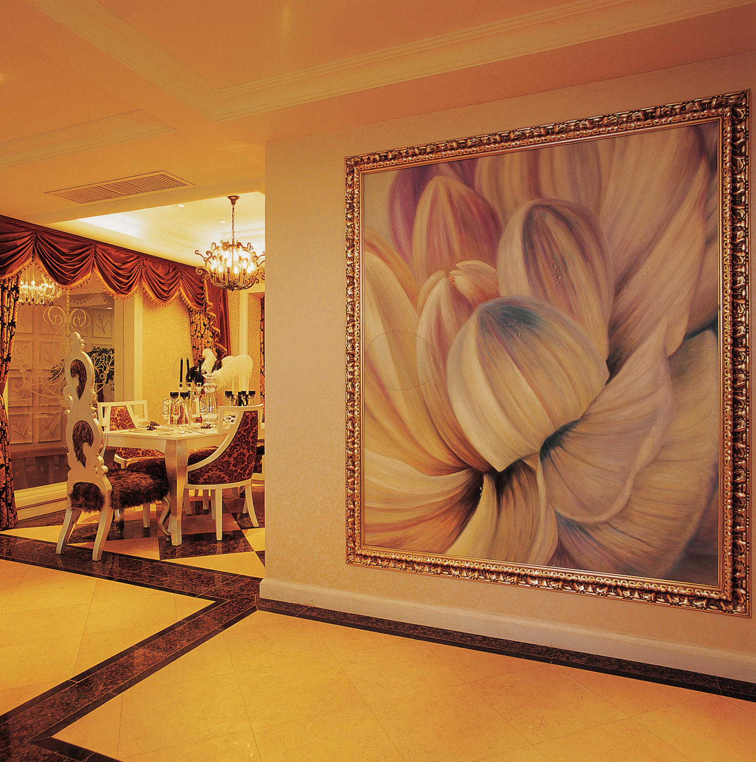 large framed wall picture printing