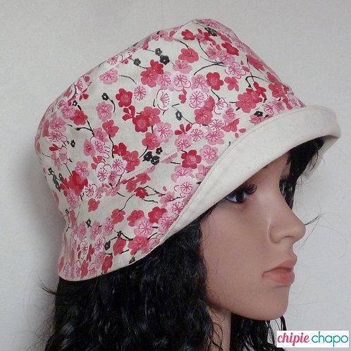 Chapeau de pluie femme doublé coton