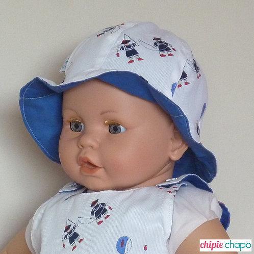 """Chapeau """"La pêche d'Ernest"""""""