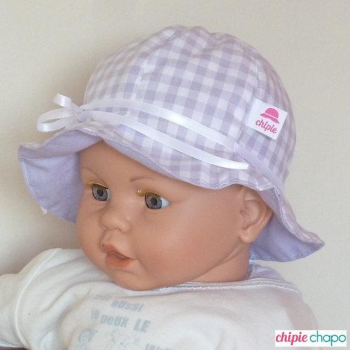 """Chapeau """"Vichy de Violette"""""""