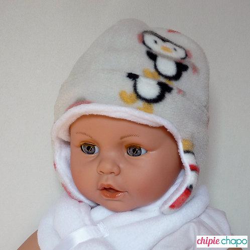 Bonnet et snood en polaire pour bébé