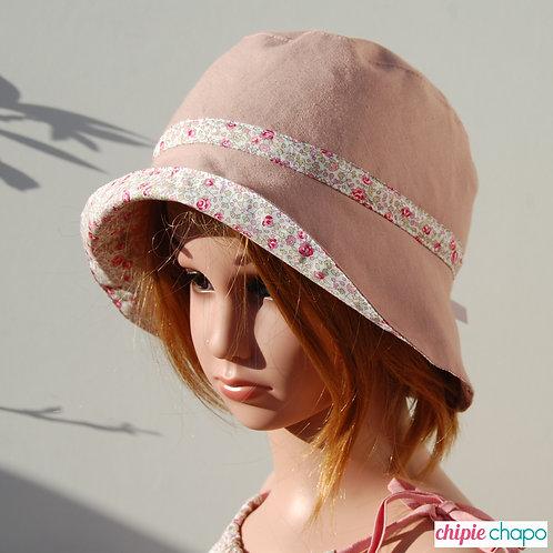 """Chapeau """" Les fleurs d'Eloise"""""""