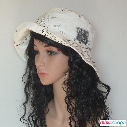 Chapeau de soleil femme