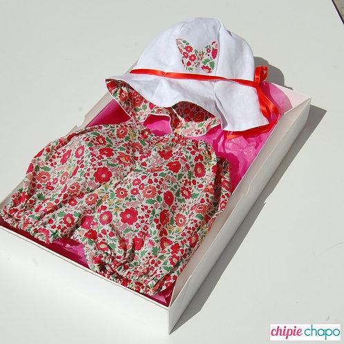 "Box bloomer + chapeau ""Jolie Betsy"""