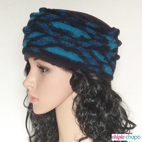Bonnet hiver en laine bouillie pour femme