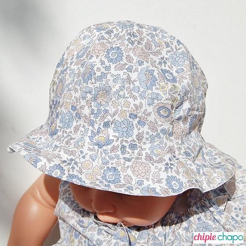 """Chapeau réversible """"D'Anjo bleu"""""""