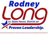 Rodney Long House District 20 Logo