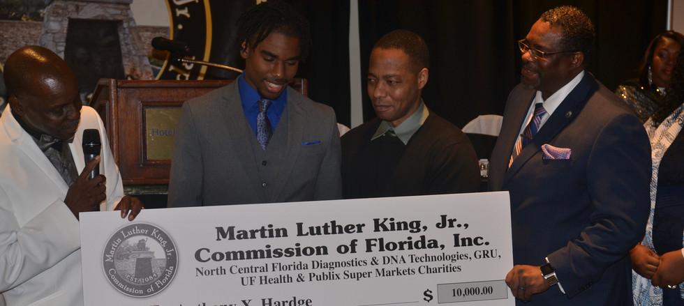 MLK Schoalrship Award - Anthony Hardge