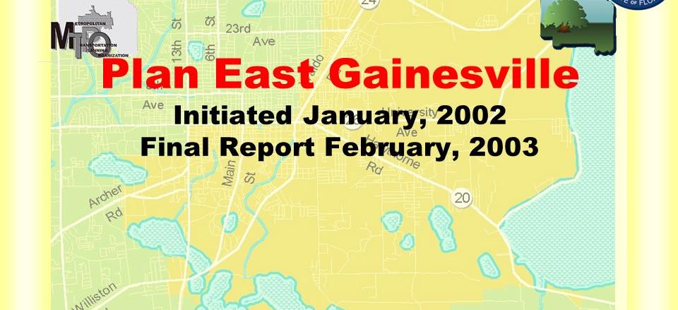 Plan East Gainesville Development Plan