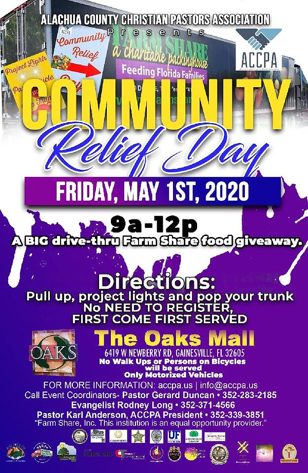 Community Relief Day Food Giveaway