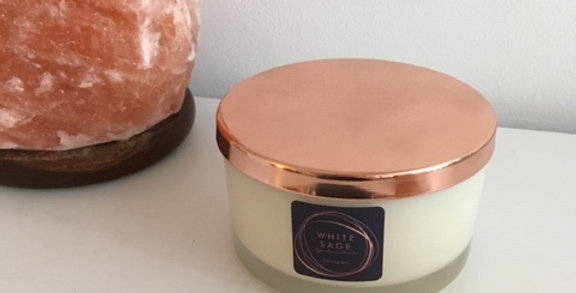 White Sage 'Signature Scents' Pure & Natural Aromatherapy 50cl Candle