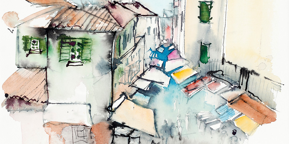 vhs Kurs   Einführung ins Urban Sketching