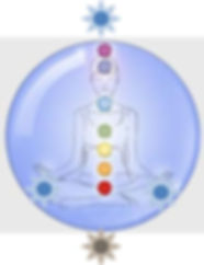 Healing works on the chakra system