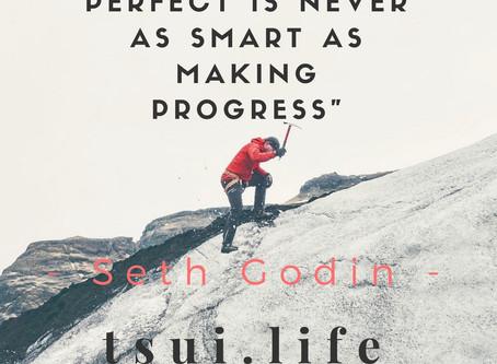 INSPO: Progress Not Perfection