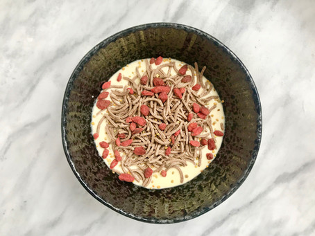 RECIPE: Delicious Fibre Filled Smoothie Bowl