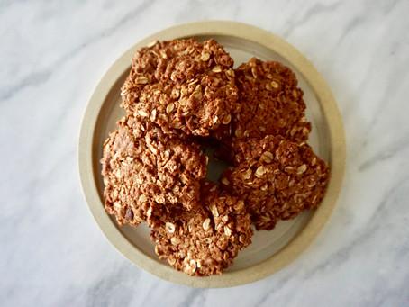 RECIPE: Super Delicious Chocolate & Ginger Cookies (DF, GF, Vg)