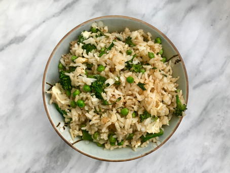 RECIPE: Garlicky Fried Rice