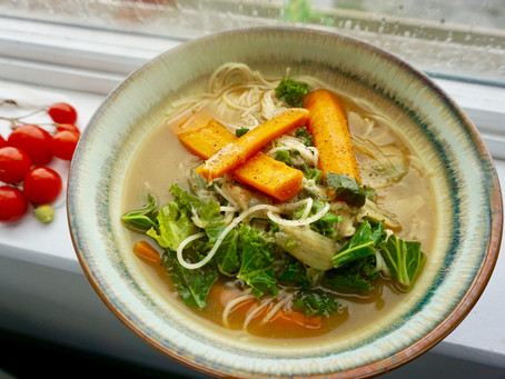 RECIPE: Wholesome Miso Veggie broth