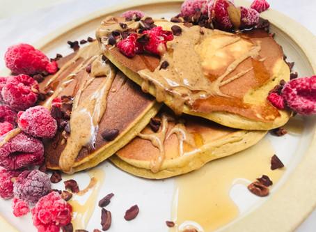 RECIPE: Speedy Protein Packed Pancakes